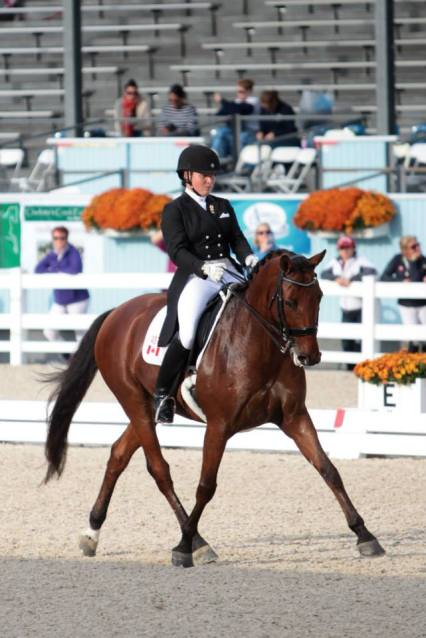 Wishing Figure Seven Team Member Maya Markowski and Lumiere a great Season in Florida