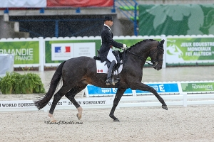 David and Chevris Capital at WEG Photo by Sue Stickle